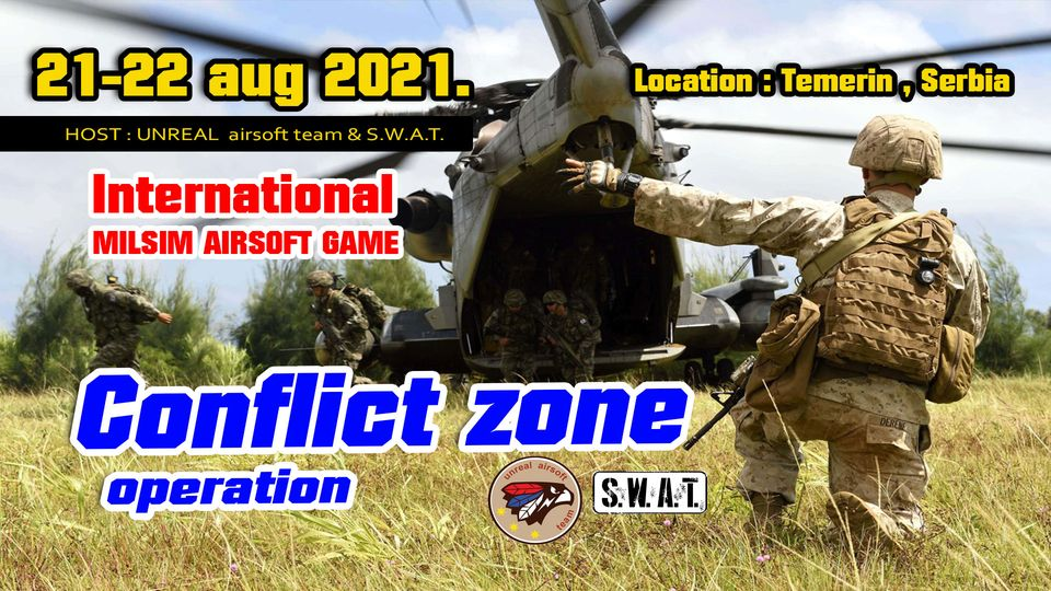 OP CONFLICT ZONE , international Milsim event